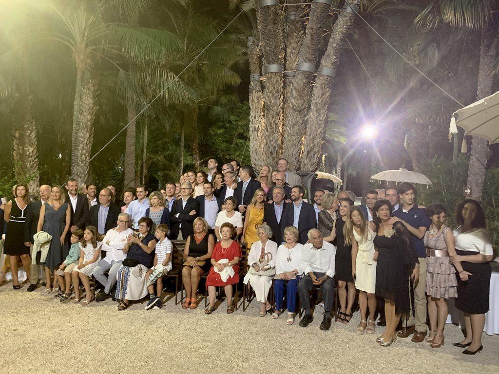 La familia Orts celebra 100 años de la compra Huerto del Cura