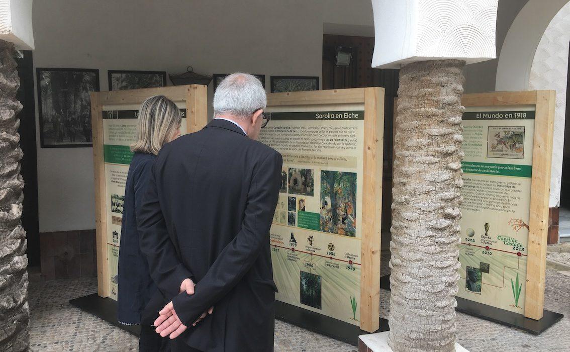 Se presenta la primera exposición itinerante sobre la Palmera Imperial