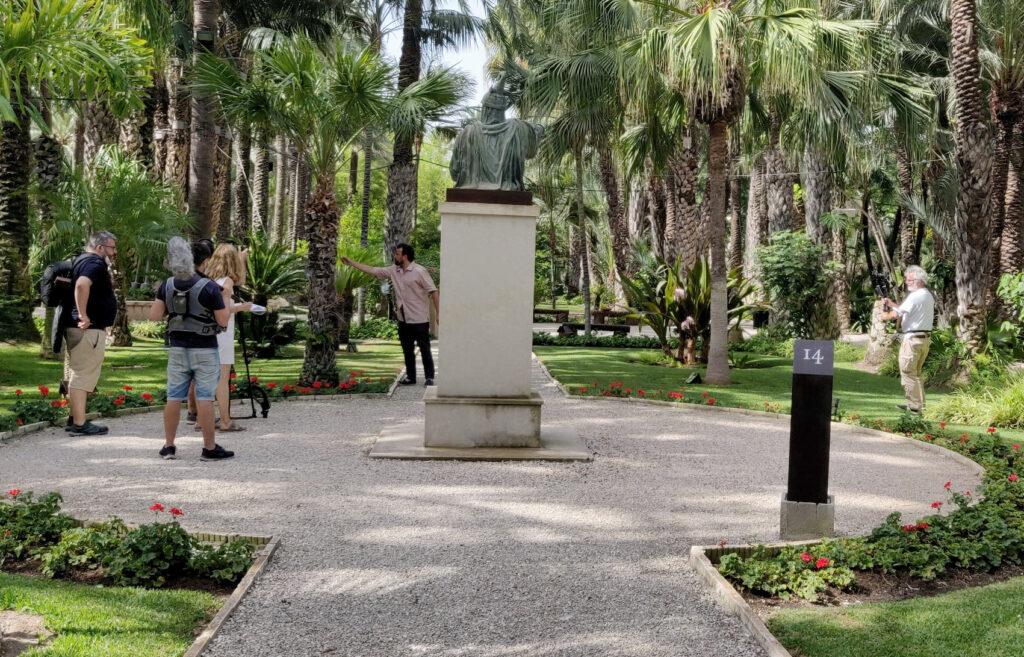 El Huerto del Cura stars dans la nouvelle livraison de «Jardins avec histoire» par La2